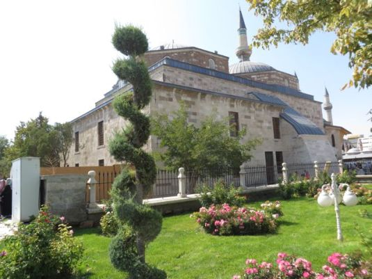 The tomb and shrine of Mevlana.